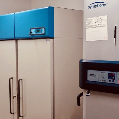 Freezer (-70'C) : Allows very long-term preservation of samples of various kinds