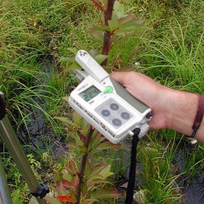 CHLOROPHYL METER KONICA MINOLTA SPAD-502 : Equipment for measuring chlorophyll in leaves