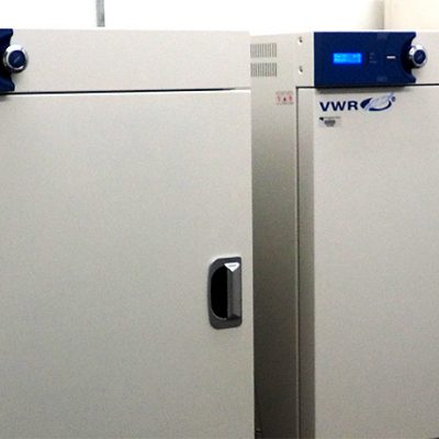 VWR Gravity Convection Oven - 155L : Two ovens for drying samples